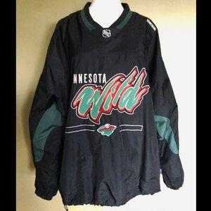 Minnesota WILD Hockey CCM pullover jacket
